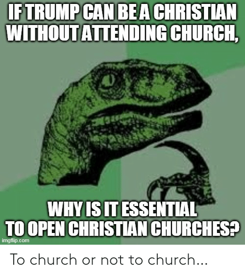 Church: To church or not to church…