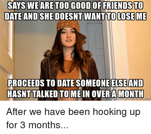 Girlfriend wont hook up