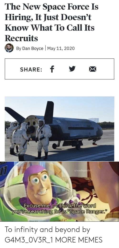 beyond: To infinity and beyond by G4M3_0V3R_1 MORE MEMES