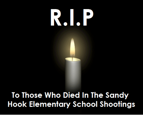 Memes, Elementary, and Hook: To Those who Died In The Sandy  Hook Elementary School Shootings