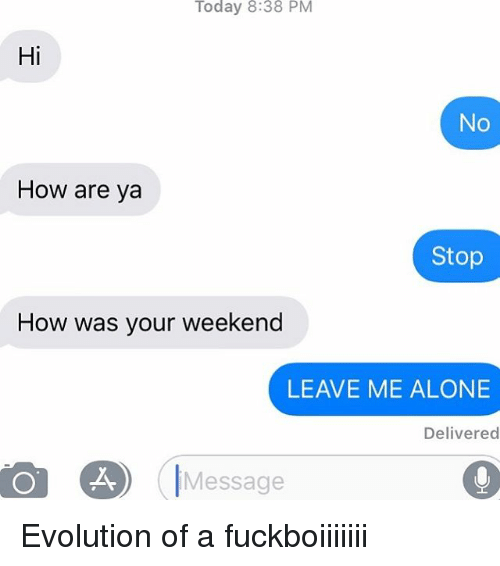 how to end a dating message