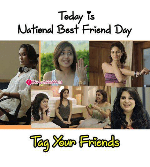 National Best Friend: Today  is  National Best Friend Day  Friends