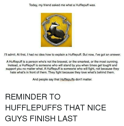 how to know if you re a hufflepuff