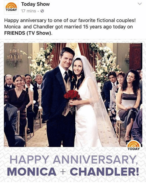 Today show mins happy anniversary to one of our