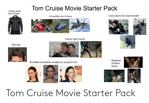 Tom Cruise: Tom Cruise Movie Starter Pack