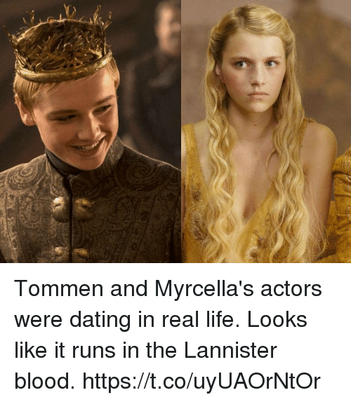 Dating, Life, and Memes: Tommen and Myrcella's actors were dating in real life. Looks like it runs in the Lannister blood. https://t.co/uyUAOrNtOr
