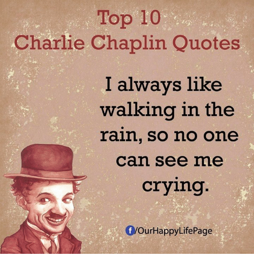 Famous Quotes By Charlie Chaplin: Funny Charlie Memes Of 2016 On SIZZLE