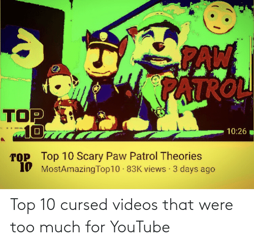 25 Best Memes About Cursed Videos Cursed Videos Memes If you watch the tape you then recieve a phone call telling you you will be dead in a week. 25 best memes about cursed videos