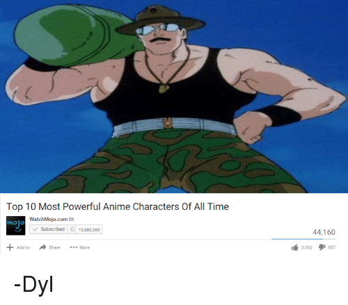 Top 10 Most Powerful Anime Characters Of All Time ...