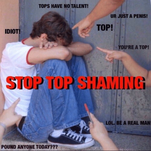 no talent: TOPS HAVE NO TALENT!  UR JUST A PENIS!  TOP!  IDIOT  YOU'RE A TOP!  STOP TOP SHAMING  LOL. BE A REAL MAN  POUND ANYONE TODAY???