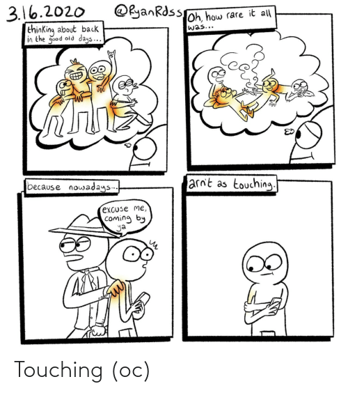 touching: Touching (oc)