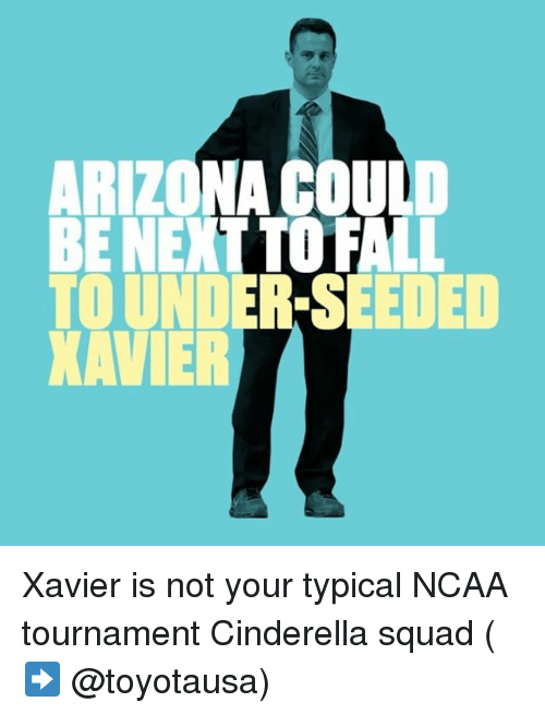 ncaa tournament: TOUND DED Xavier is not your typical NCAA tournament Cinderella squad (➡️ @toyotausa)
