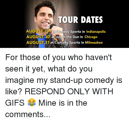 Dating comedy stand up
