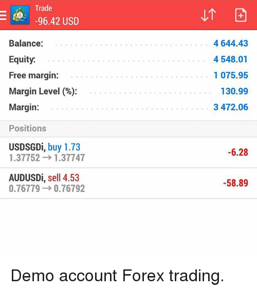What is balance and equity in forex