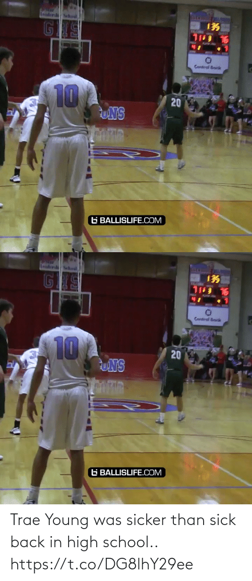 high school: Trae Young was sicker than sick back in high school.. https://t.co/DG8lhY29ee