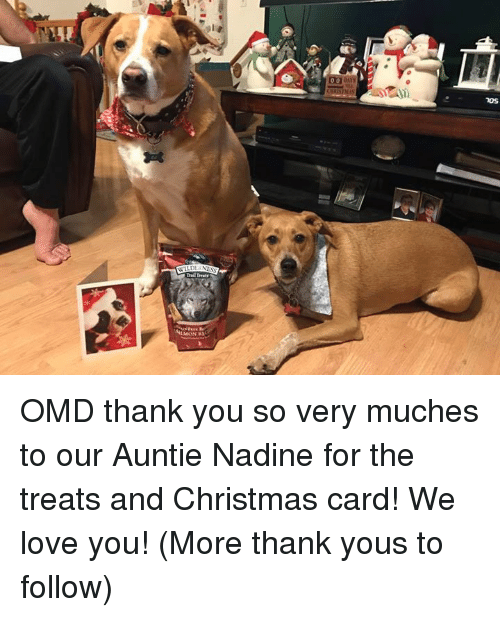 Trail Treats Noss Omd Thank You So Very Muches To Our Auntie