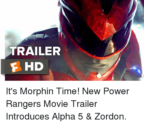 Its Morphin Time