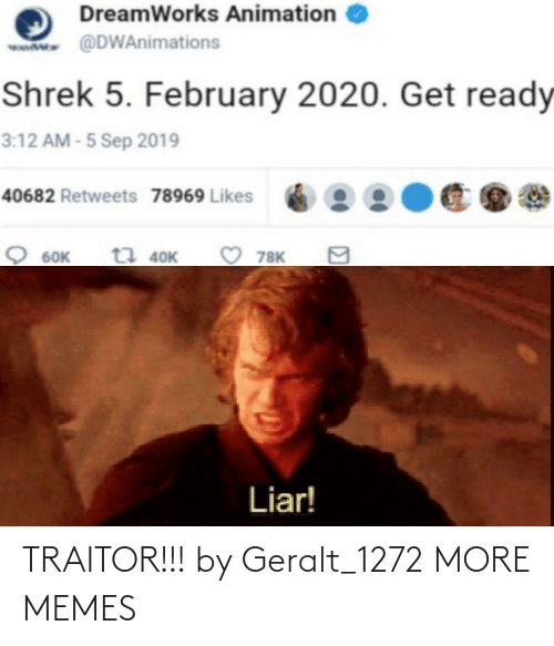 traitor: TRAITOR!!! by Geralt_1272 MORE MEMES
