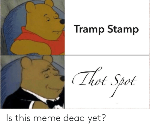 Thot Spot: Tramp Stamp  Thot Spot Is this meme dead yet?