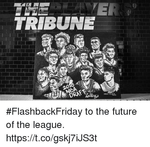 Future, Memes, and The League: TRIBUNE #FlashbackFriday to the future of the league. https://t.co/gskj7iJS3t