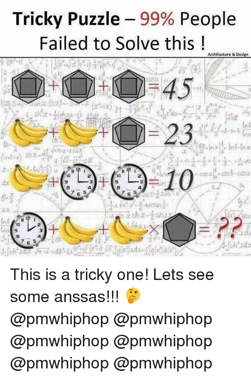 Tricky Puzzle 99% People Failed to Solve This Architecture
