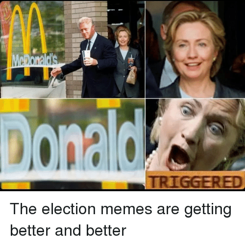 Funny, Meme, and Memes: TRIGGERED The election memes are getting better and better