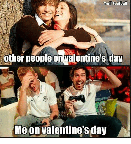 Soccer And Valentineu0027s Day: Troll Football Other People On Valentineu0027s Day  Me On Valentine S