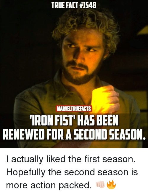 true fact 1548 marveltruefacts iron fist has been renewed for 25920338 🔥 25 best memes about iron fist iron fist memes,Iron Fist Meme