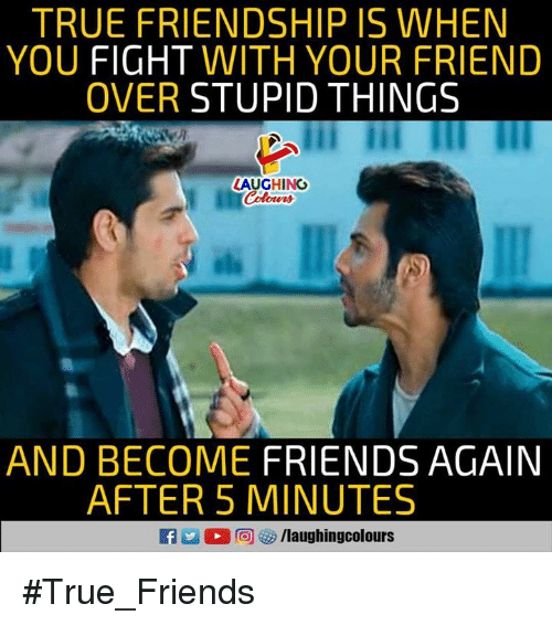 Fight For Friendship Quotes: 25+ Best Memes About Friendship