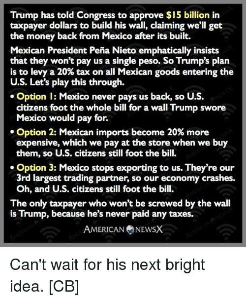25+ Best Memes About Wall Trump