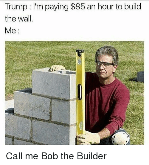 Search Trump Building A Wall Memes On