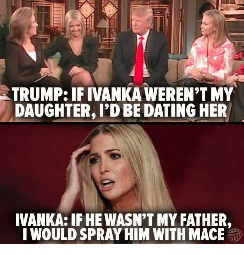 Donald trump dating daughter meme