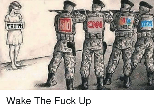 Memes, Mtv, and 🤖: TRUTH  NBC  mtv Wake The Fuck Up