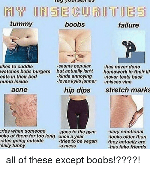 Jonnor: tummy  boobs  failure  -sooms popular  but actually Isn't  -kinda annoylng -ovor toxts back  -lovos kyllo Jonnor -mlssos vino  -has novor done  homowork In tholr lif  lkes to cuddle  watchos bobs burgors  oats in thoir bod  numb Insido  acne  hip dips  stretch marks  ries when someone  oks at them for too long  hates going outside  eally funny  -very emotional  -looks older tharn  they actually are  -has fake friends  -goes to the gym  once a year  tries to be vegan all of these except boobs!????!