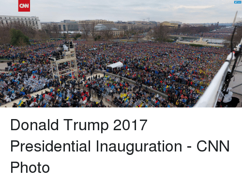 presidential inauguration: Tweet  CN Donald Trump 2017 Presidential Inauguration - CNN Photo