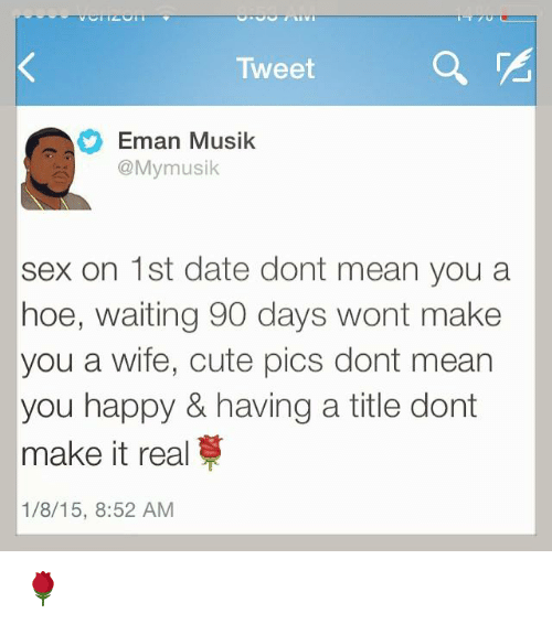 Dating a hoe