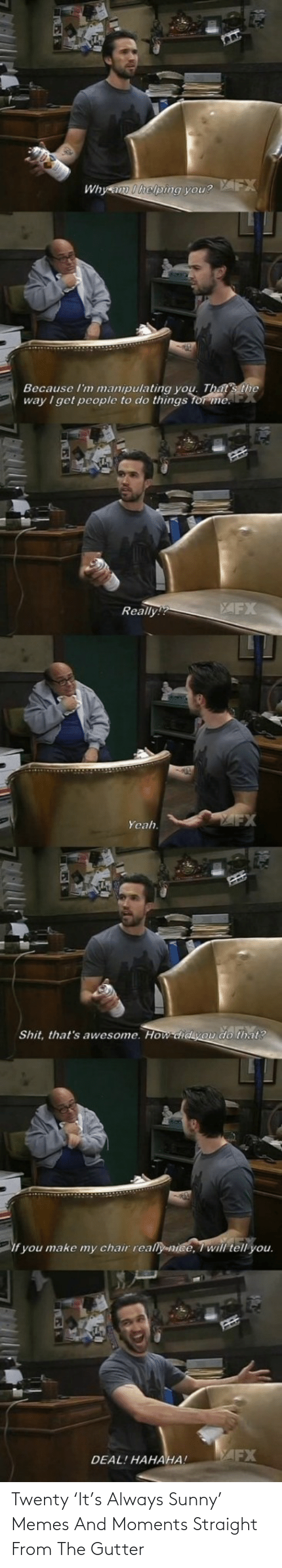 sunny: Twenty 'It's Always Sunny' Memes And Moments Straight From The Gutter