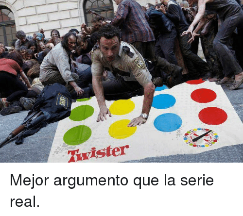 Twister, Que, and Real: Twister <p>Mejor argumento que la serie real.</p>