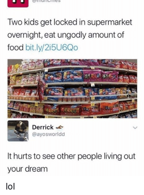 Facebook About To Eat Food