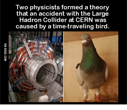 Lhc Time Travel Bird