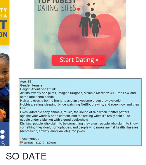 Good age to start dating