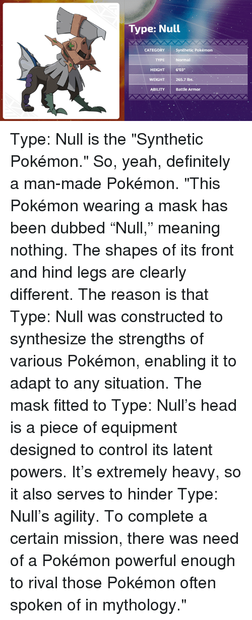 how to get type null