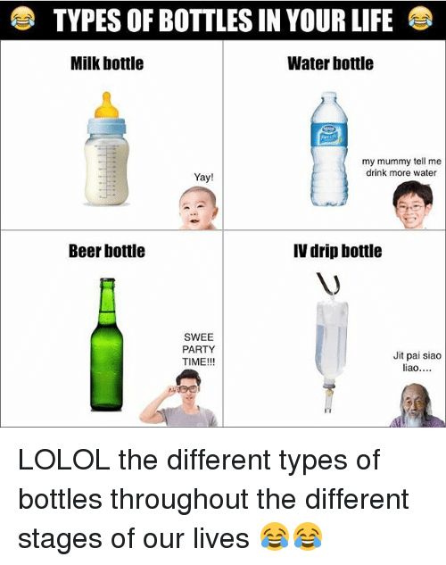 25 best memes about beer bottle beer bottle memes for All types of water