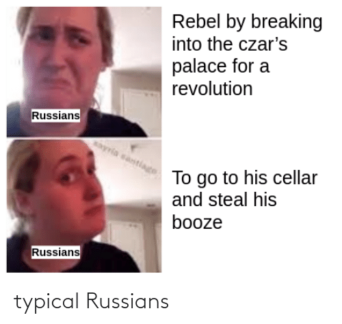 russians: typical Russians