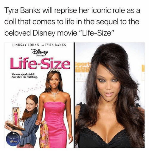 Tyra Banks Sequel: 25+ Best Memes About Life Size