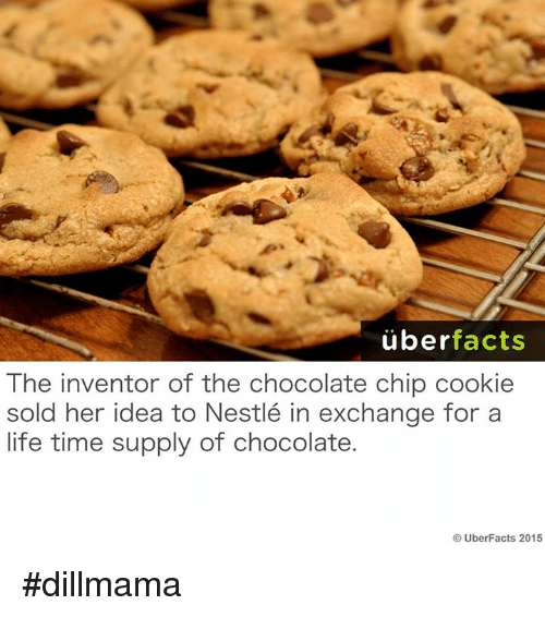 Funny Facts About Chocolate Chip Cookies