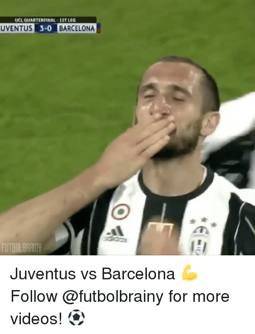 juventus vs barcelona: UCL QUARTERFINAL 1STLEG  UVENTUS 3-0 BARCELONA  FUTBOL Juventus vs Barcelona 💪 Follow @futbolbrainy for more videos! ⚽️