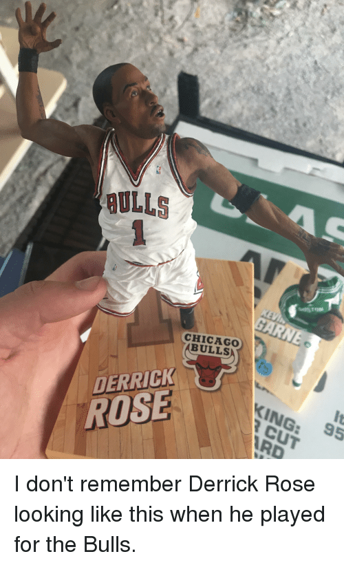 Chicago, Derrick Rose, and Funny: ULLS  CHICAGO  ABULLS  It  95  DERRICK  KING:  ROSE  RD
