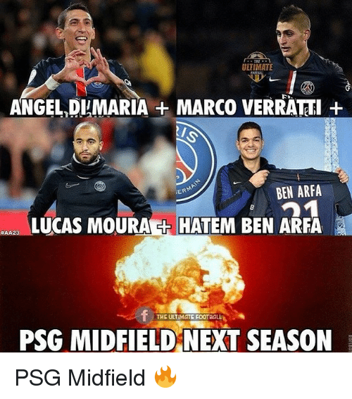 Lucas Moura Political Views: ULTIMATE ANGEL DIMARIA MARCO VERRATTI BEN ARFA ER LUCAS