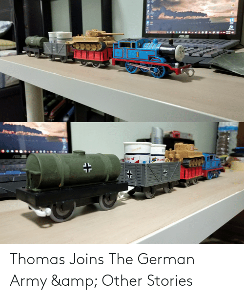 "Army, Thomas, and German: umbrol""  Humb Thomas Joins The German Army & Other Stories"